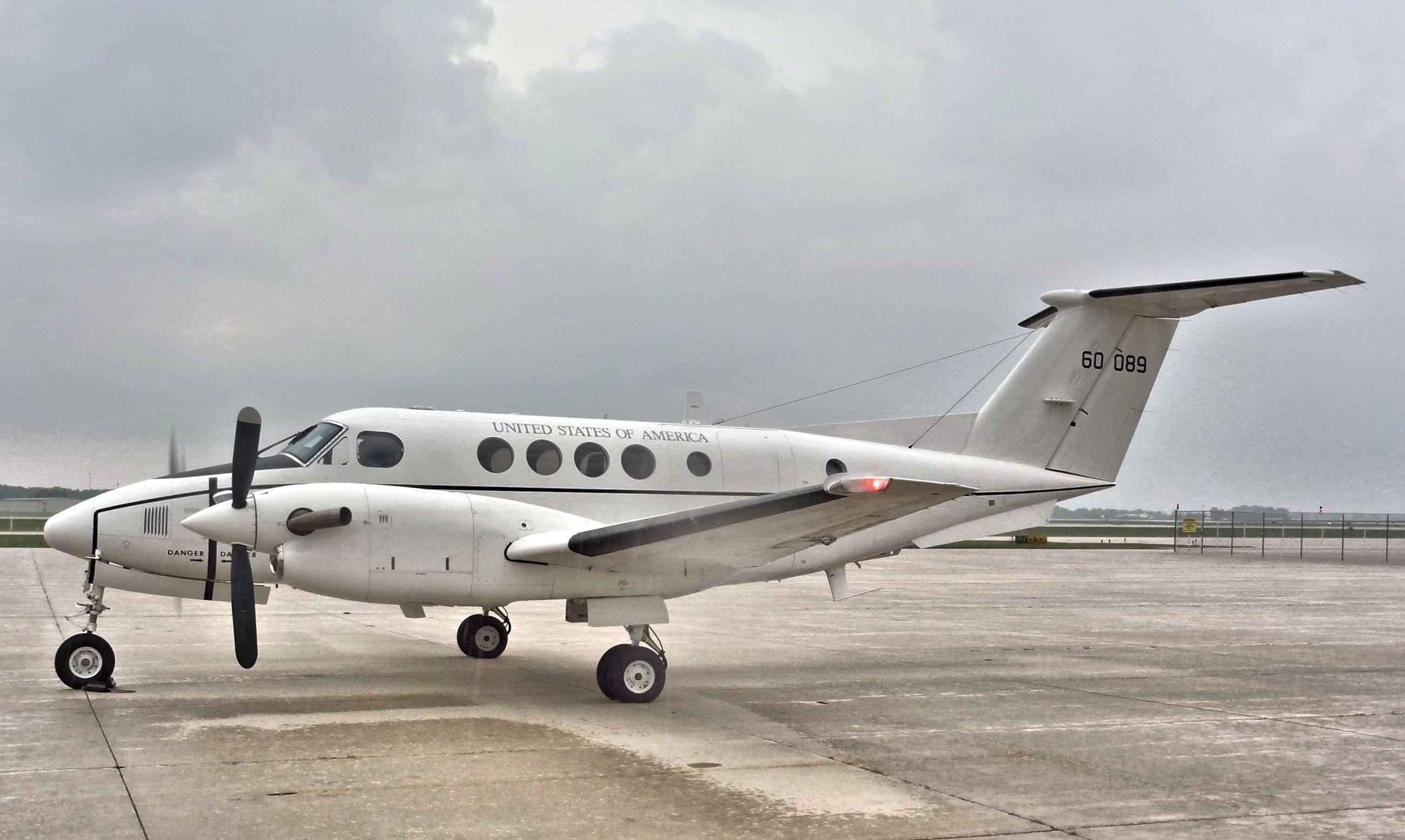 Beechcraft C12BP Huron (King Air 200)